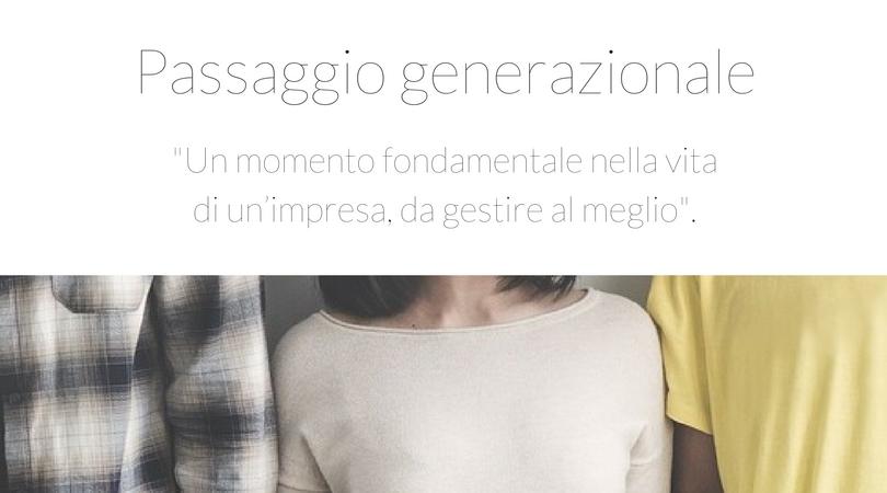 passaggio generazionale